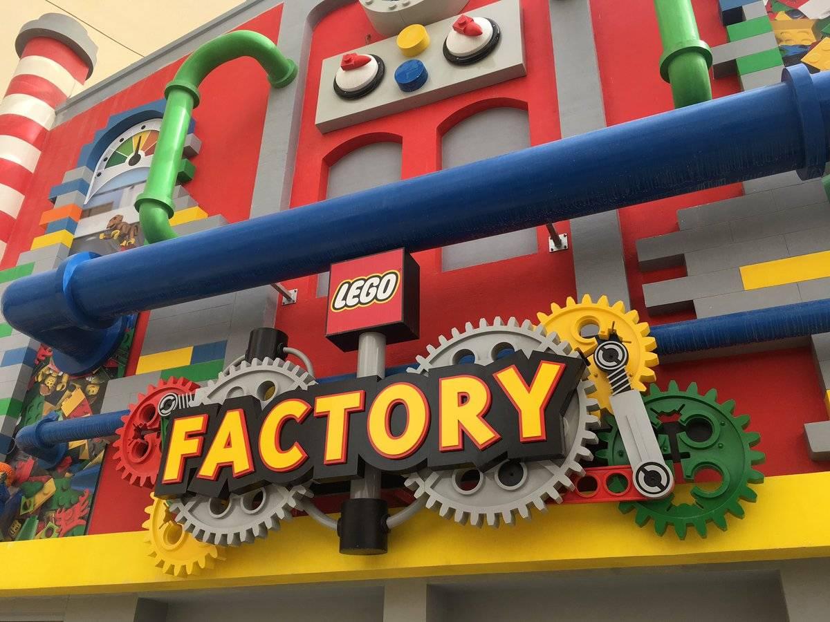 lego factory entrance