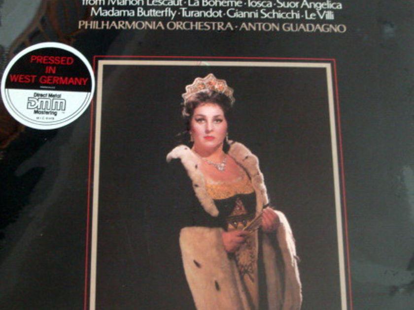 ★Sealed★ EMI Angel Digital / DIMITROVA - sings Puccini Arias, Promo Copy!