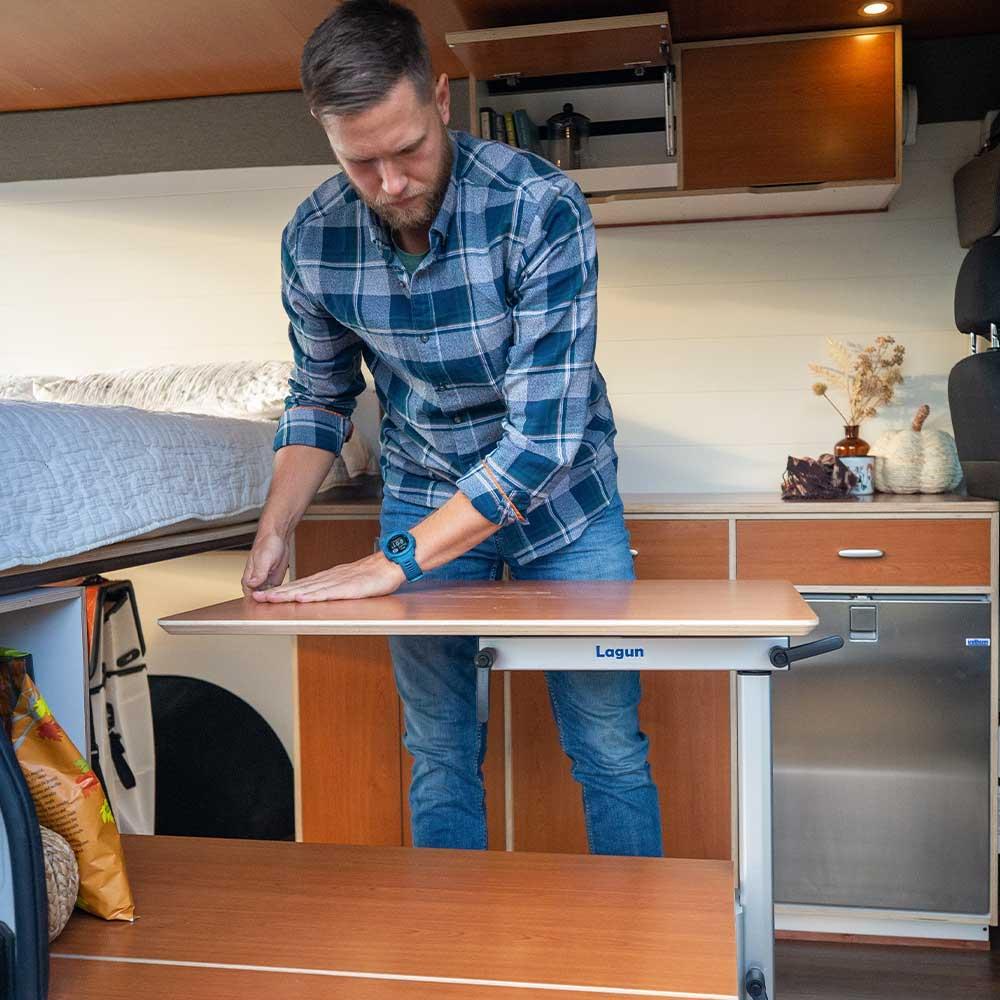 The Bivy - Sprinter 144 and ProMaster 136 Affordable Van Conversion Interior - The Vansmith in Colorado