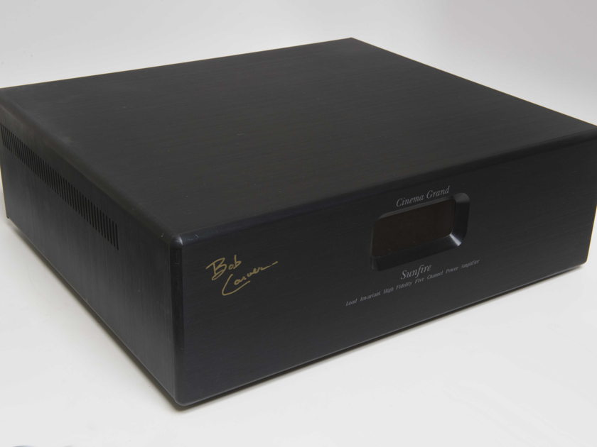 Sunfire Cinema Grand Signature  5 Channel Power Amp