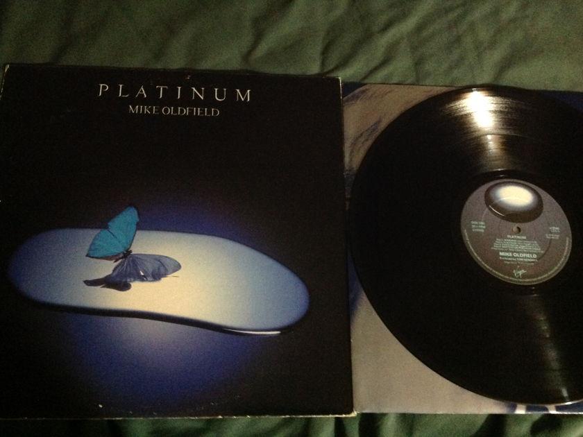 Mike Oldfield - Platinum Virgin UK Vinyl  LP NM