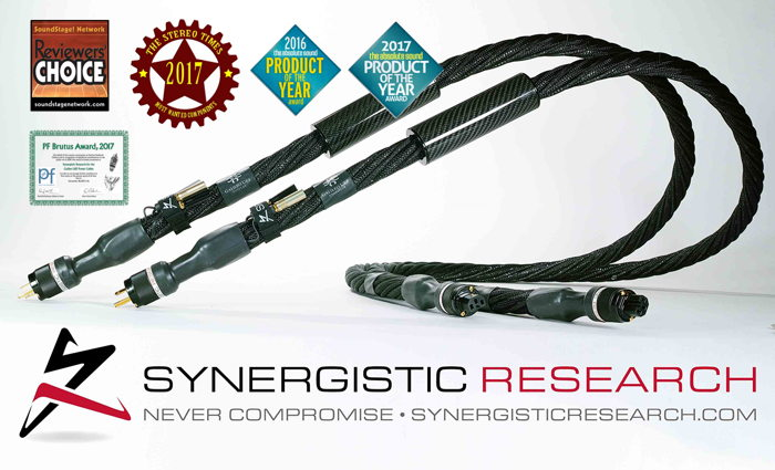 Synergistic Research Galileo UEF Power Cables