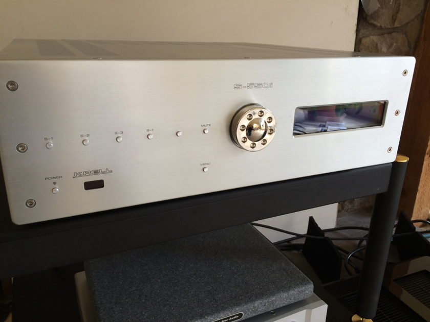 Krell S-550i stereo integrated amp