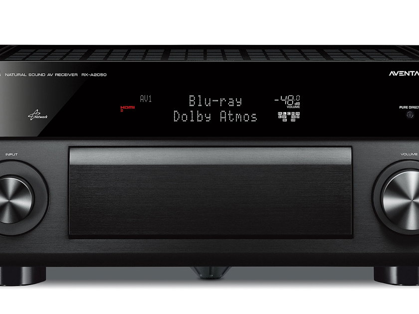 Yamaha RX-A2050 9.2 Channel Dolby Atmos AV Receiver Brand New!