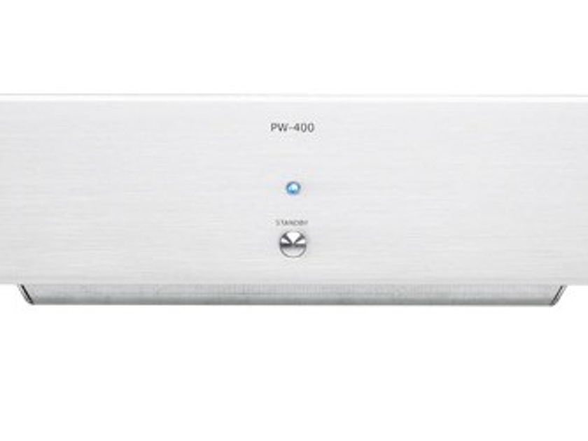 Micromega PW-400 Power Amplifier (Silver or Black): Manufacturer Refurbished; Full Warranty; 67% Off
