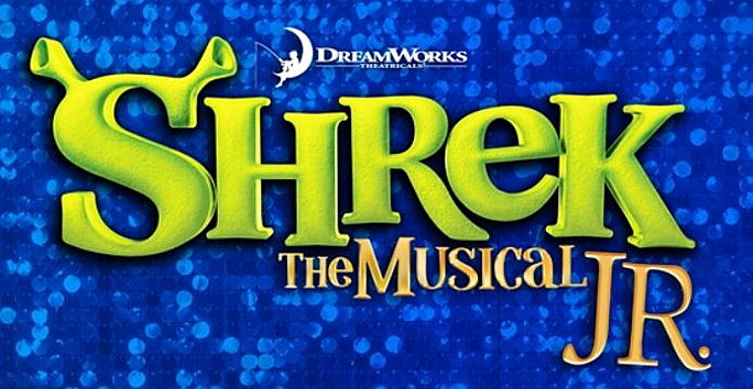 Logo of Shrek the Musical Jr