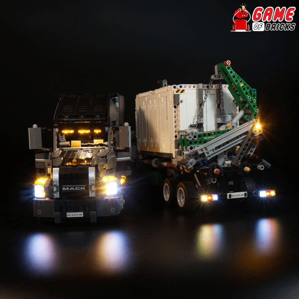 lego night light MACK ANTHEM 42078