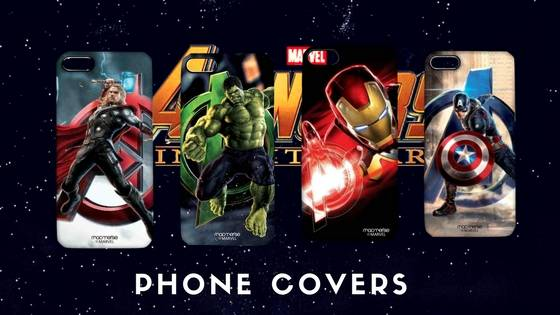 Avengers Mobile Phone and Tablet Cases- Free shipping across India
