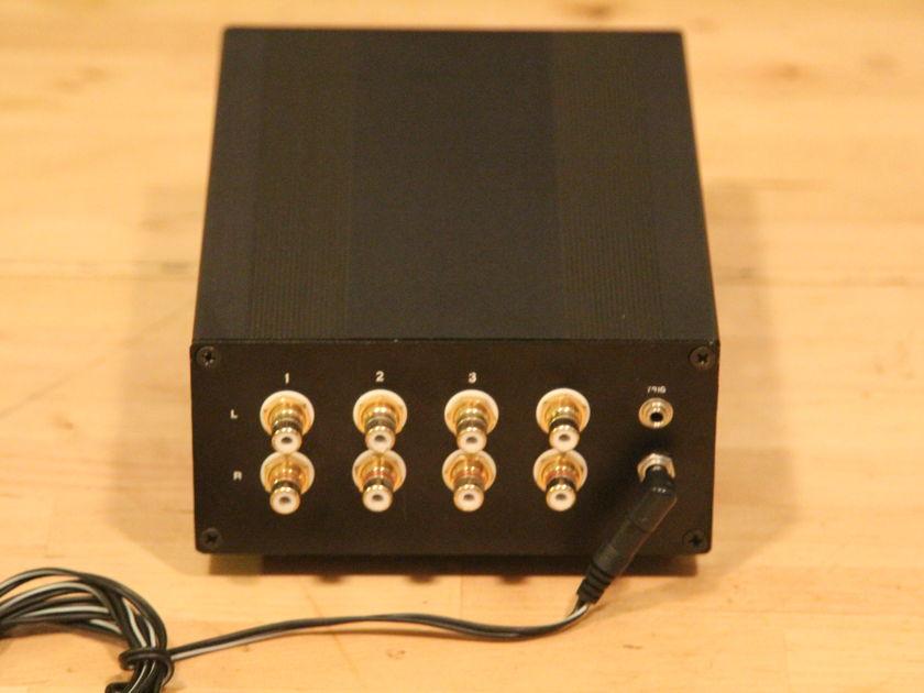 Tortuga Audio LDR3x remote passive LDR preamp