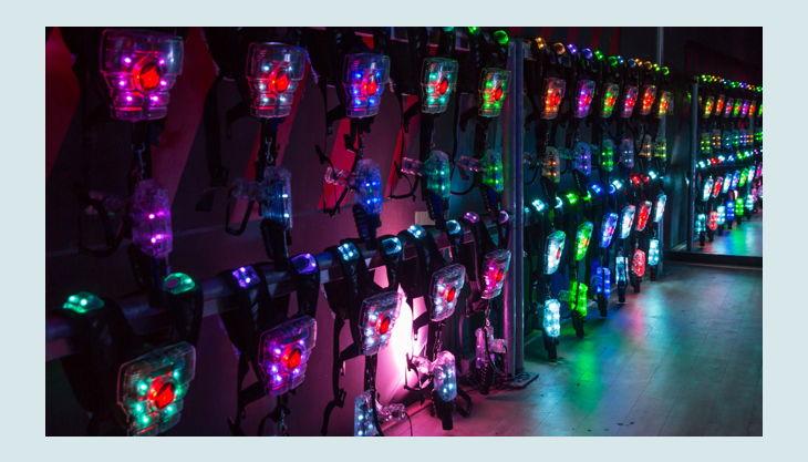 laserzone essen borbeck die ausrüstung