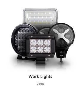 Jeep Work Lights