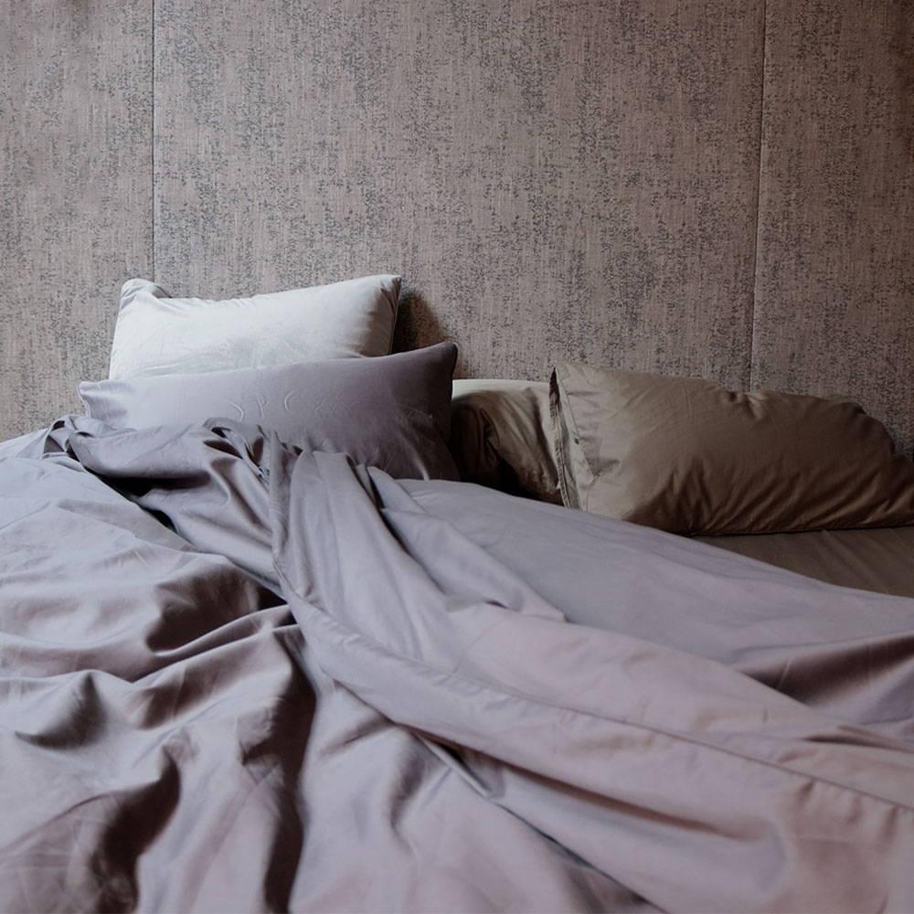 Charcoal Sheet Set - 100% Cotton - The Sheet Society