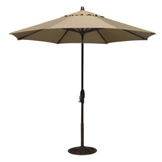 Treasure Garden 9' Octagonal Auto Tilt Umbrella