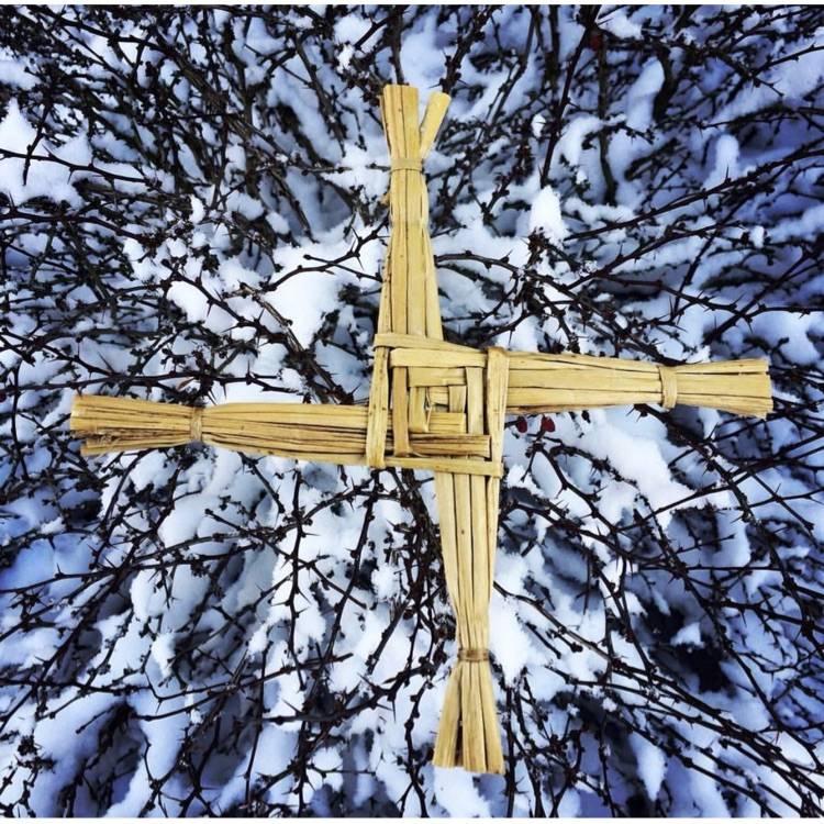 Imbolc Brigid's Cross St. Brigid Feast of St. Brigid