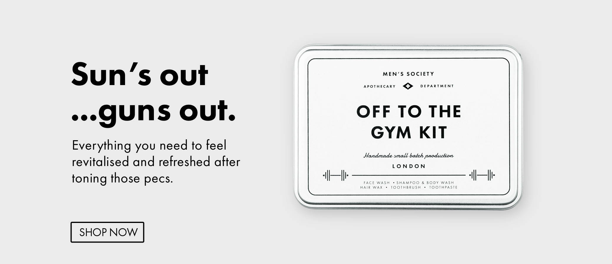Off to the gym kit | Gifts for men
