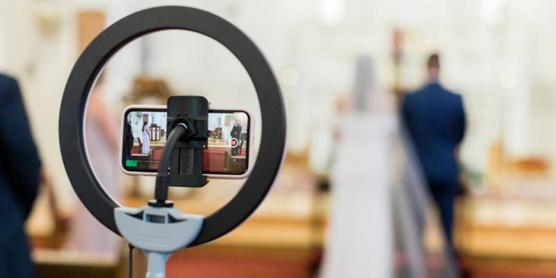 Top Questions About Livestreaming Your Wedding