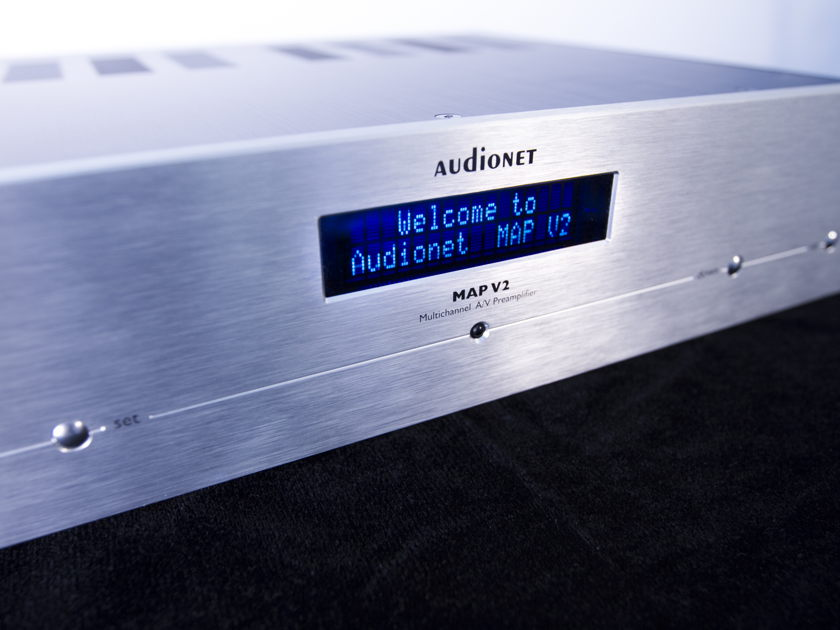 AUDIONET MAP V2 Multi-channel A/V preamplifier SUPER VALUE!!!!
