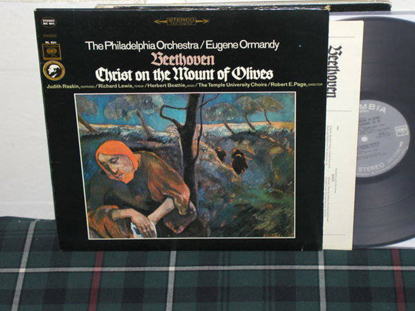 Ormandy/PO - Beethoven Columbia 360 1st labels LP