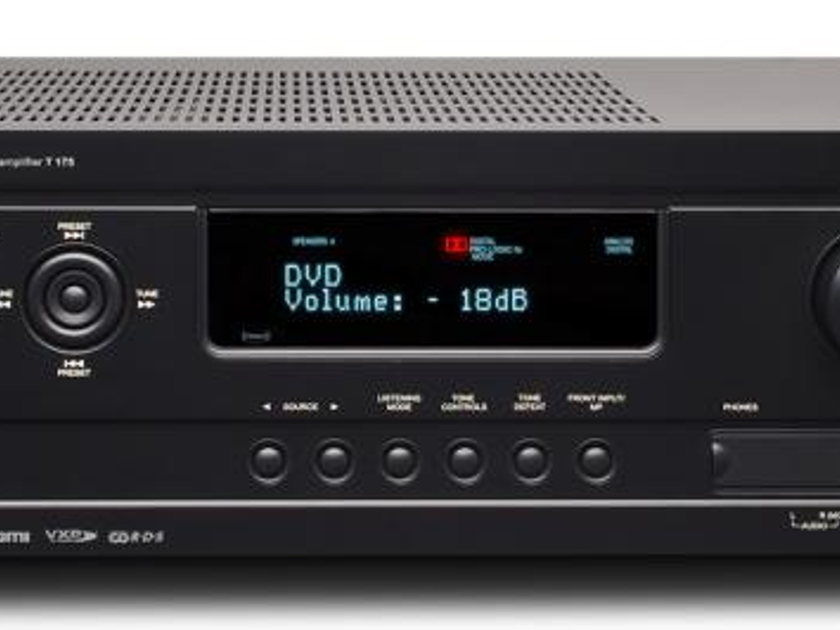 NAD T175HD Preamp/Processor with Manufacturer's Warranty