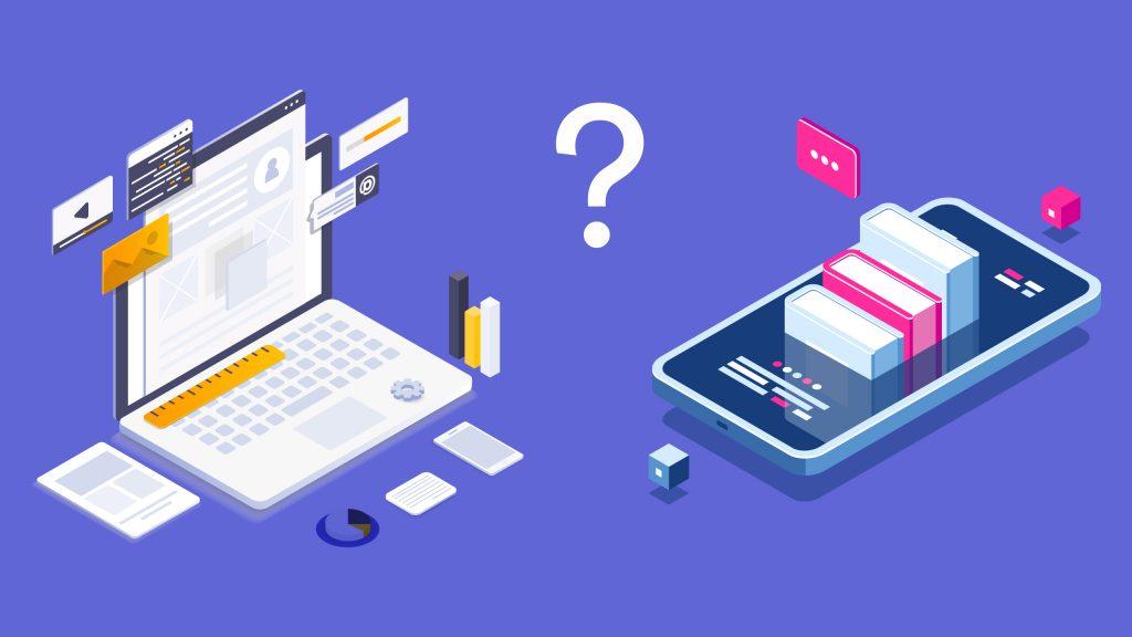 Web vs mobile apps dd8uf
