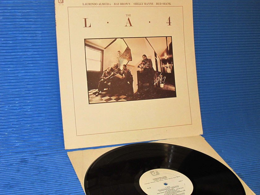"THE L.A. 4   - ""The L A Four"" -  Concord Jazz 1976 Heavy Vinyl 1st pressing"