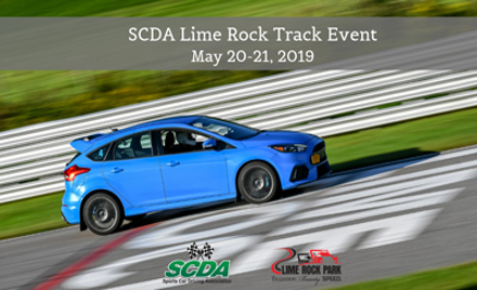SCDA- Lime Rock Park- 2 Day Track Event- May 20-21