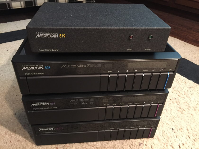 Meridian 568.2 Complete System