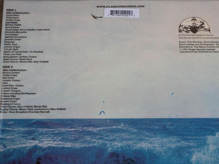 Mike Oldfield - Tubular Bells   Classic Records Quiex SV-P 200g vinyl [Sealed] OOP!