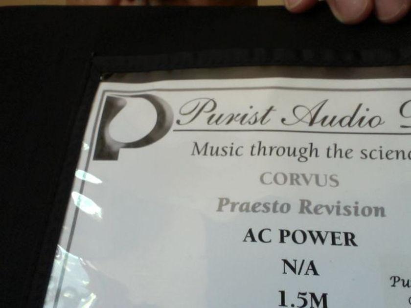 Purist Audio Design Corvus Praesto Revision