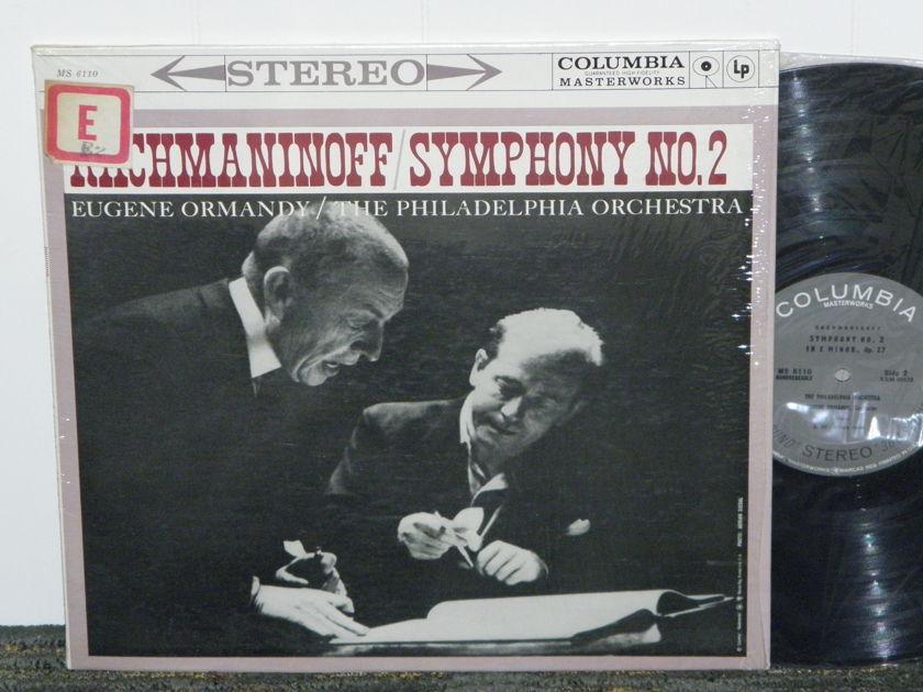 "Eugene Ormandy/Philadelphia Orchestra - Rachmaninoff ""Symphony No. 2"" Columbia MS 6110 Black print (early '60'ies) pressing"