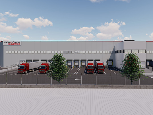 "Hamburg - Engel & Völkers Development Spain is building three warehouses in the ""Villaverde"" logistics park in Madrid"