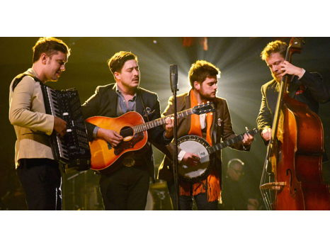 Calling Mumford & Sons Fans!  Signed Vinyl & 2 Tickets
