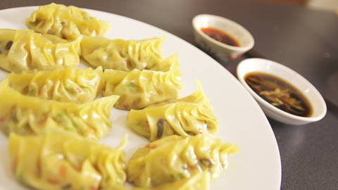 Asian Vegetable Dumplings
