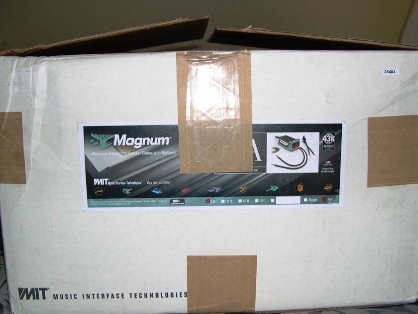 MIT Magnum MA 8 ft pr, Rare  Used Pair, 9/10 condition New Price!  WRNTY