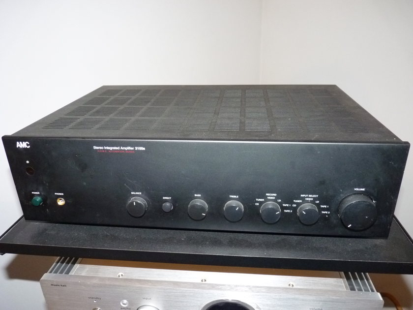 AMC 3100A, INTEGRATED AMPLIFIER,  100 WATTS/CHANNEL