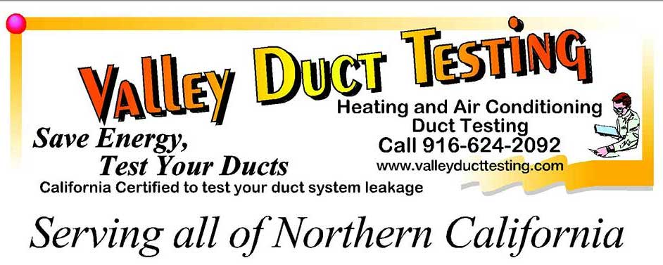 Valley Duct Testing
