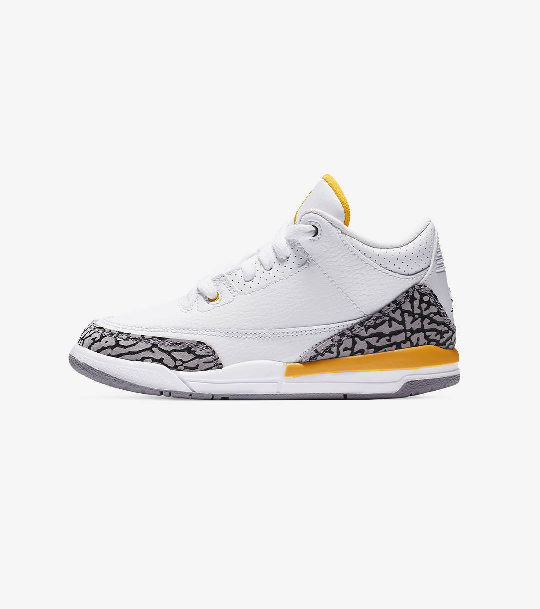 "AIR JORDAN 3 RETRO ""LASER ORANGE"" Preschool"