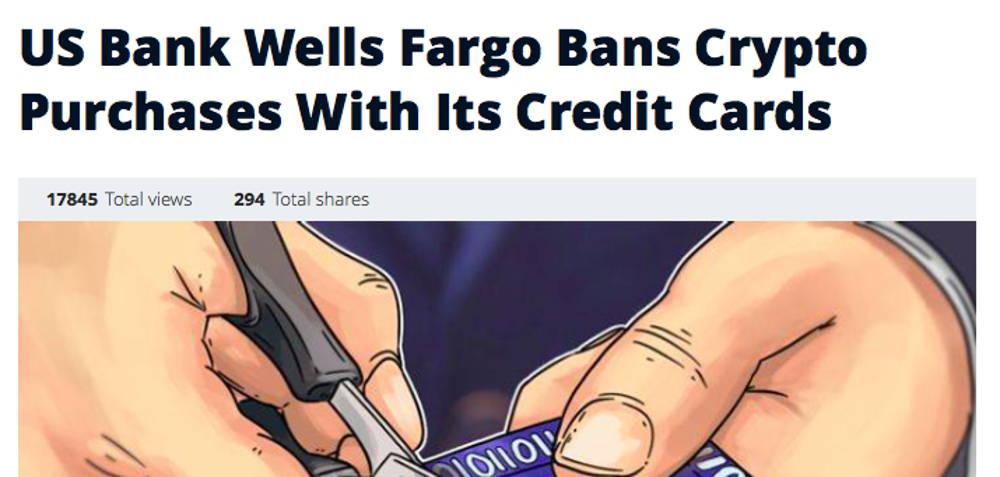 US banks ban Bitcoin