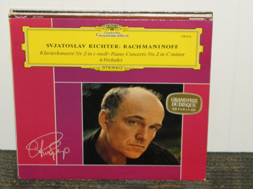 Svjatoslav Richter/Wislocki/Warsaw National Phil - Rachmaninoff Cto .No 2+6 Preludes DG 138 076 German Pressing