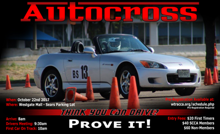 West Texas Region SCCA - Oct 22nd - Sears Event