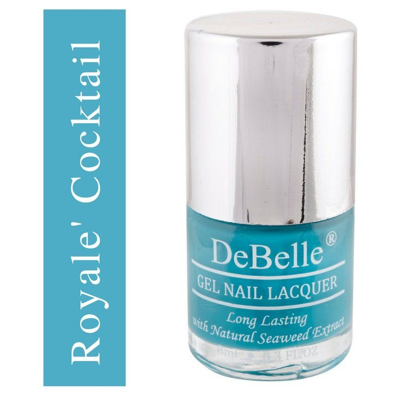 DeBelle Blue nail polish