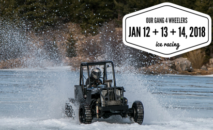 Our Gang Ice Racing 2018 - Week 2 - CANCELED