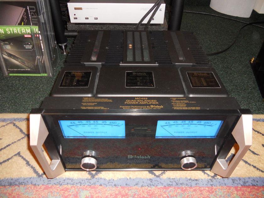 McIntosh MC452 power amp