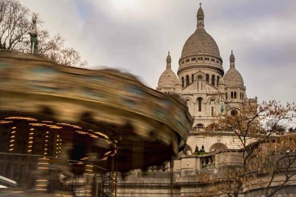 Монмартр в Париже - интересные места фото описание карта