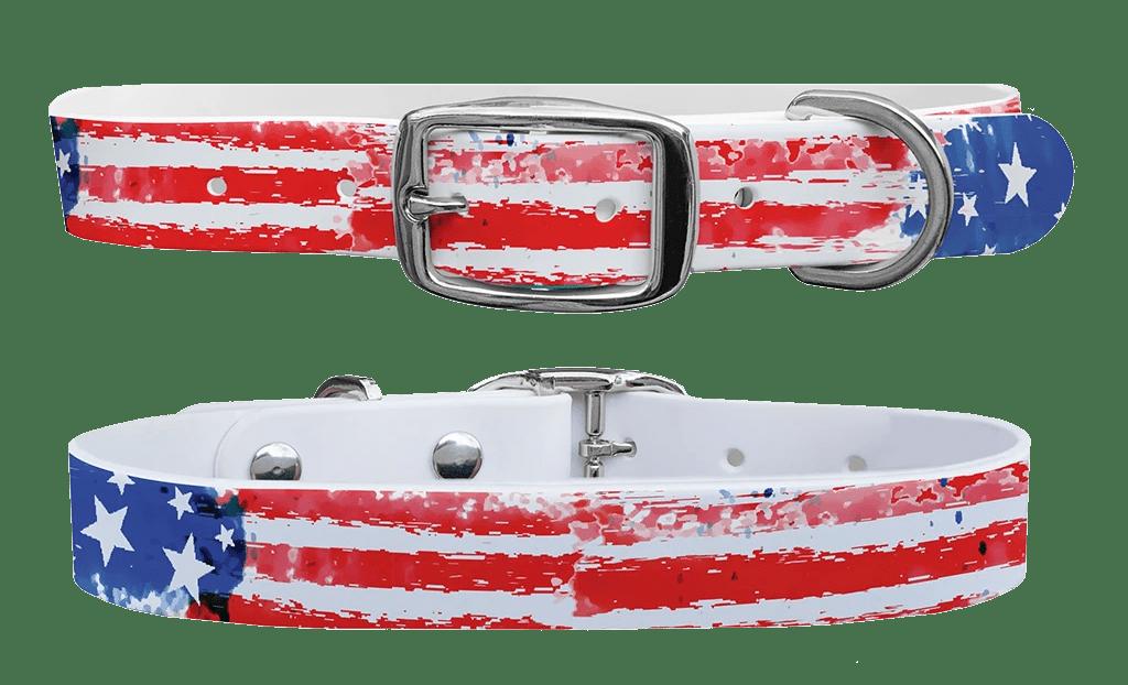 Vintage c4 dog collar