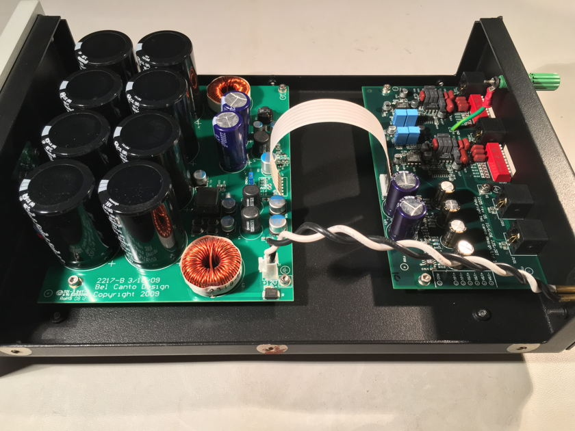 Bel Canto Design Phono3 VB with LNS1 Power Supply & VB Ref cable