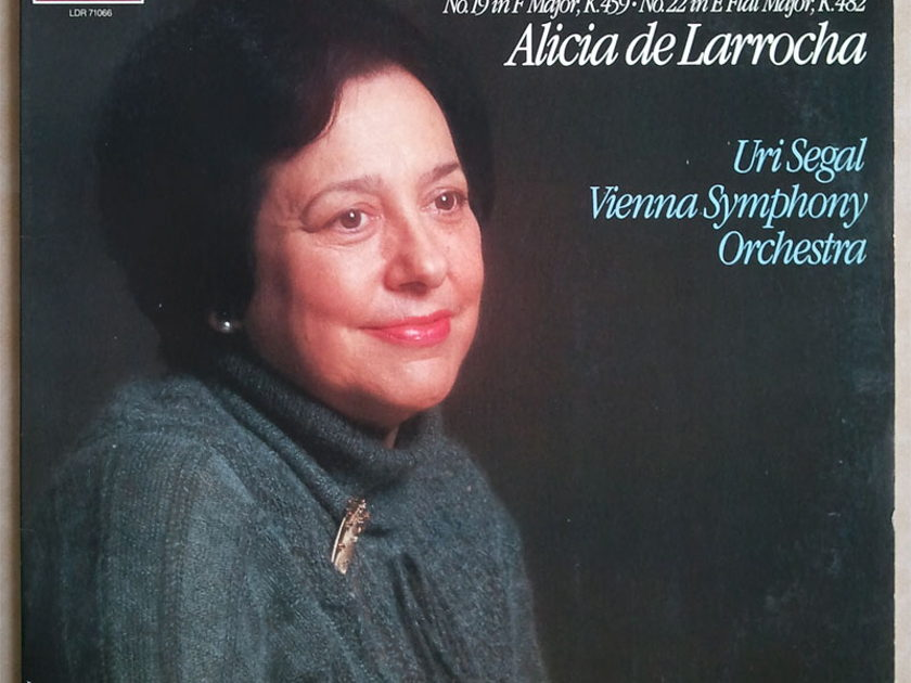 London ffrr/Alicia de Larrocha/Mozart - Piano Concertos Nos. 19 & 22 / NM