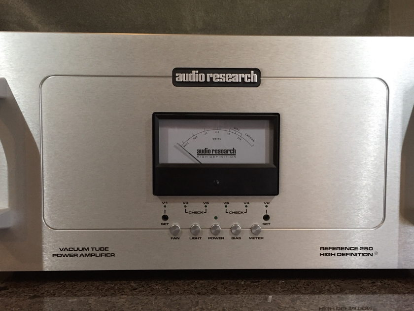 Audio Research Reference 250 Mono Block Amplifiers