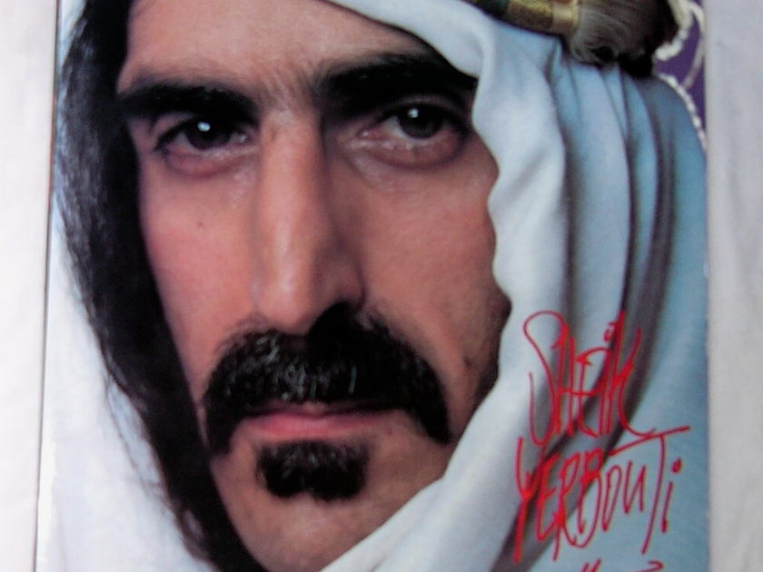 FRANK ZAPPA 2 LP SET- - SHEIK YERBOUTI-- rare 1979 album on Zappa Records--classic psychedelic rock
