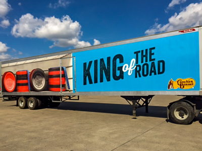 Cracker Barrel Trailer Wrap